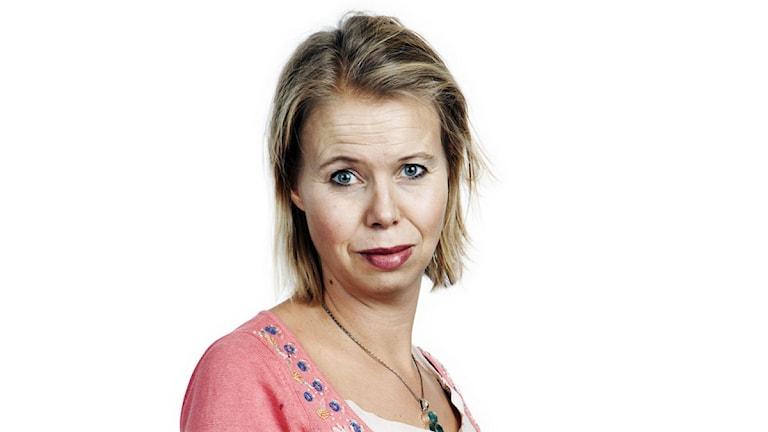 Anne Lagercrantz. Foto: Mikael Andersson/Sveriges Radio