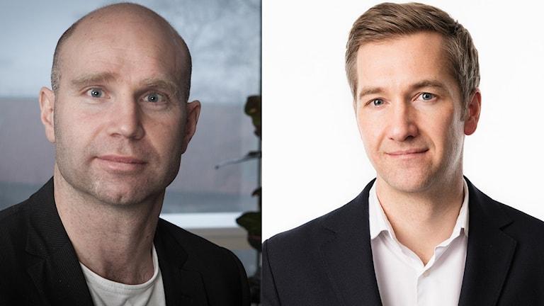Ekots publiceringschef Klas Wolf-Watz, och Ekochefen Olle Zachrison.