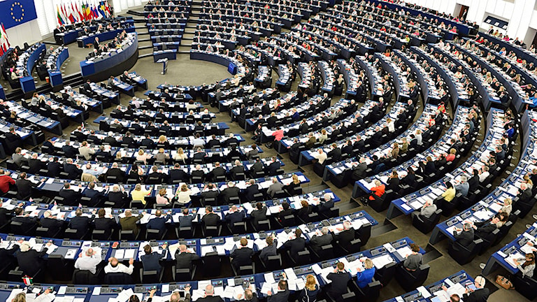 Plenum i Europaparlamentet i Strasbourg