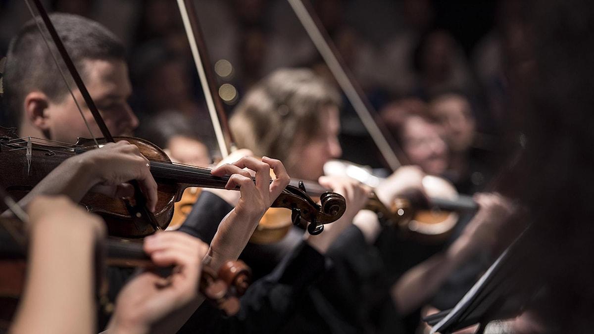 Del av en orkester