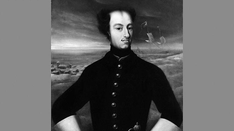 Porträtt på Karl XII