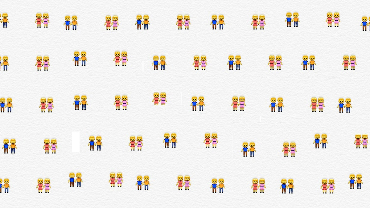 Illustrationer på män och kvinnor