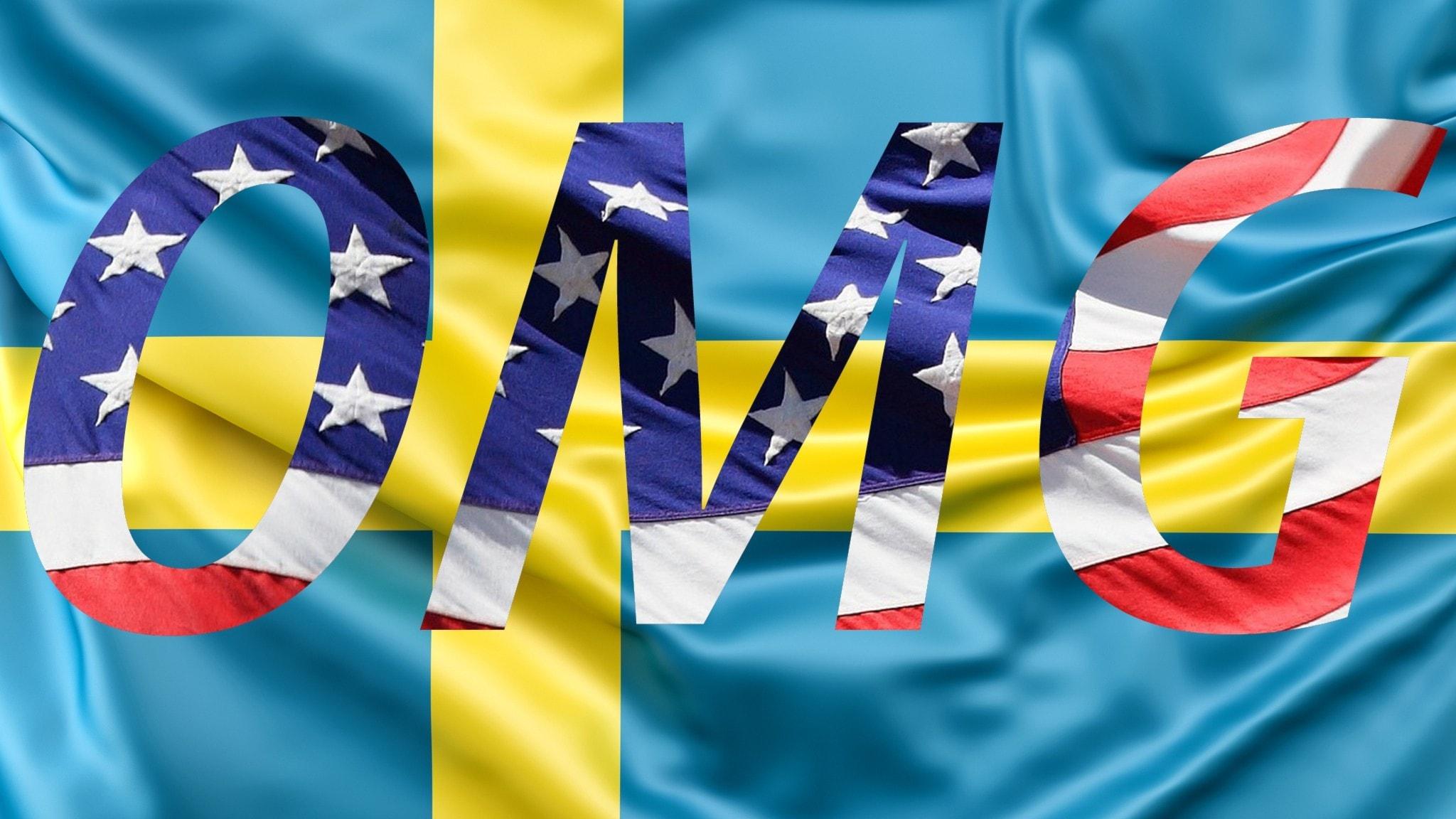 "Engelska ord och uttryck blir allt vanligare i svenska språket. Som ""Oh my god!"""
