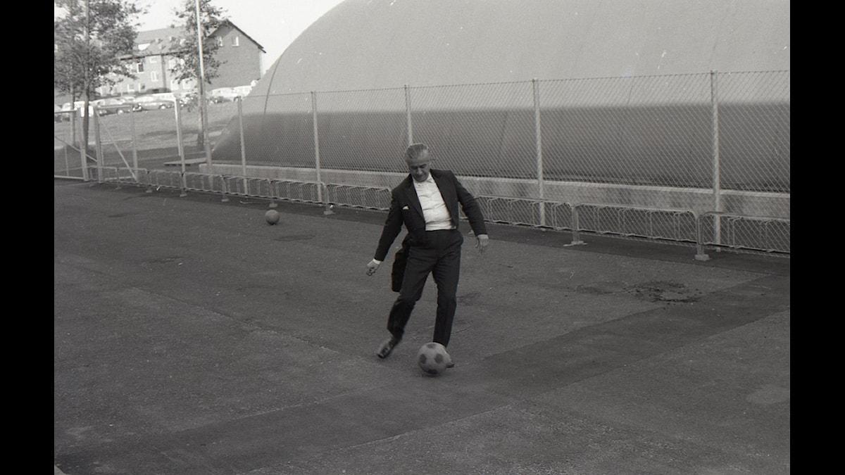 Celibidache - fotbollsspelaren