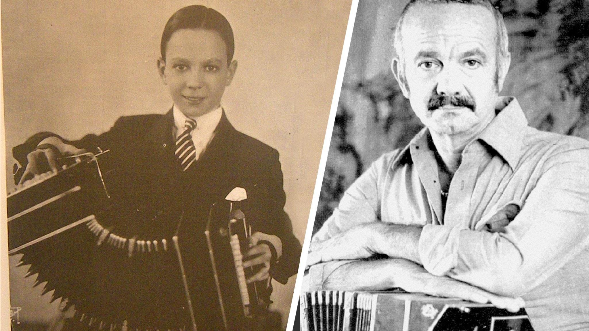 Astor Piazzolla - som ung och gammal