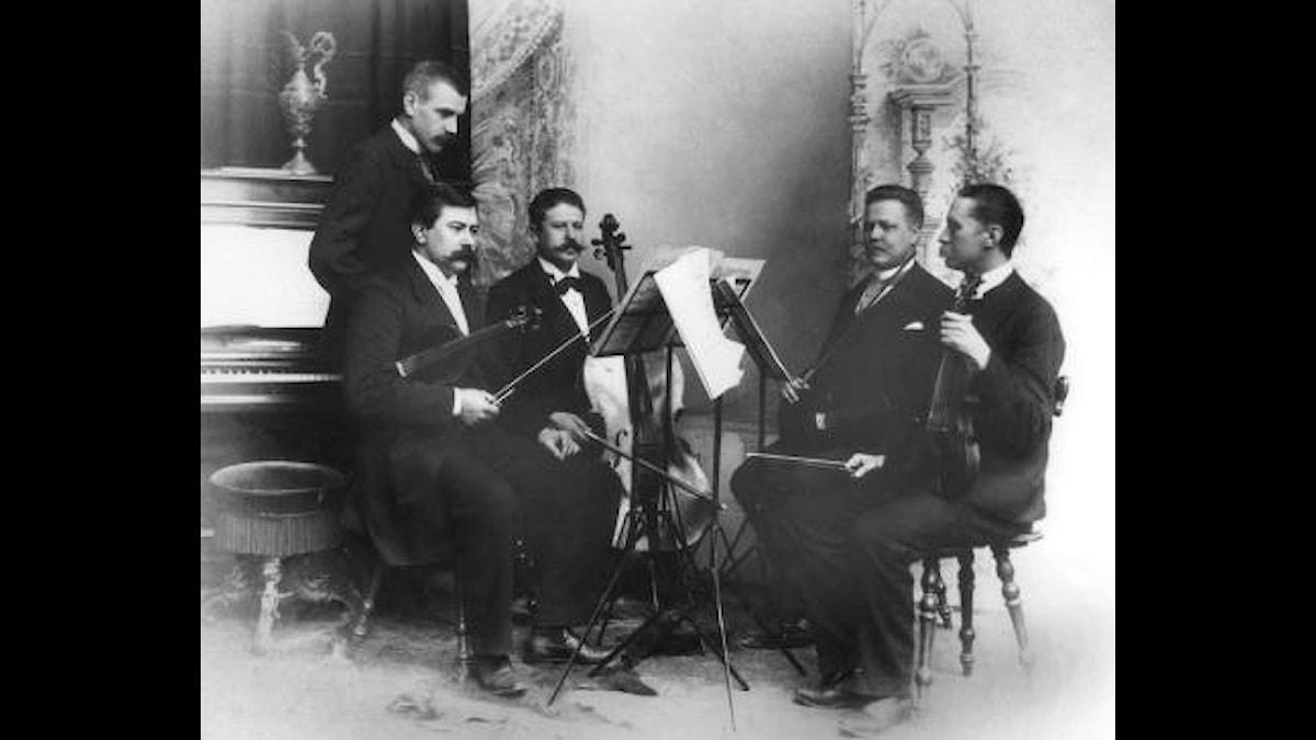 Aulinkvartetten med Wilhelm Stenhammar