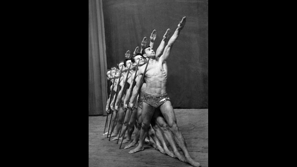 Sovjetisk sport- och teatergrupp 1935