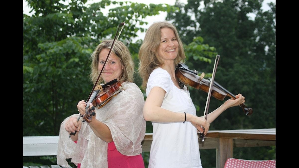 Anna Dahlgren och Susanne Lind