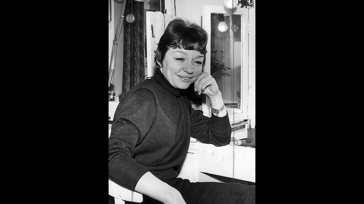 Sångerskan och skådespelerskan Ulla Sjöblom utses till SvDs Thalia-pristagare feb-67 - Foto Scanpix