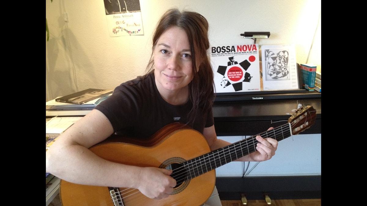 Bossanova-artisten Petra Ahlmark - Foto Åsa Veghed