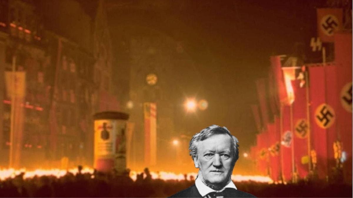 Richard Wagner och nazismen - Foton från Wiikimedia CC, montage Anders Olsén