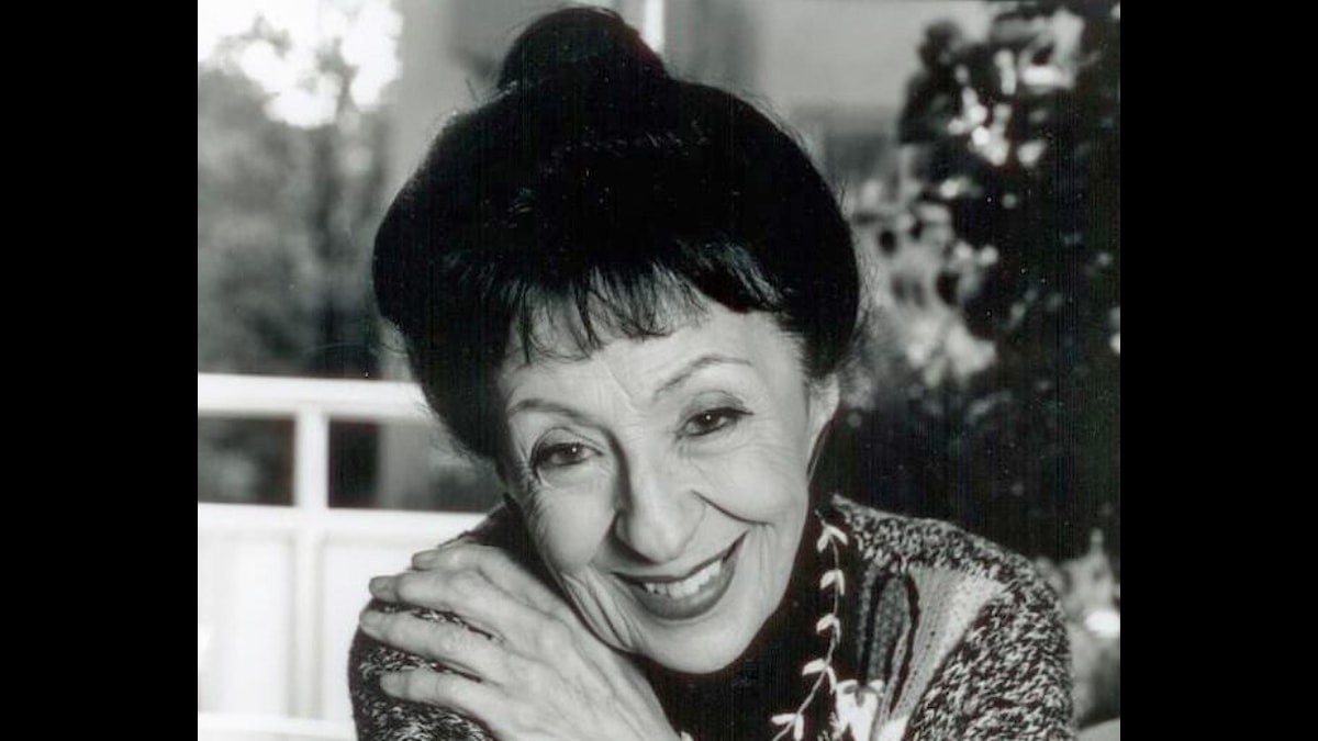 Herta Fischer - dåtida pressbild, fotograf okänd