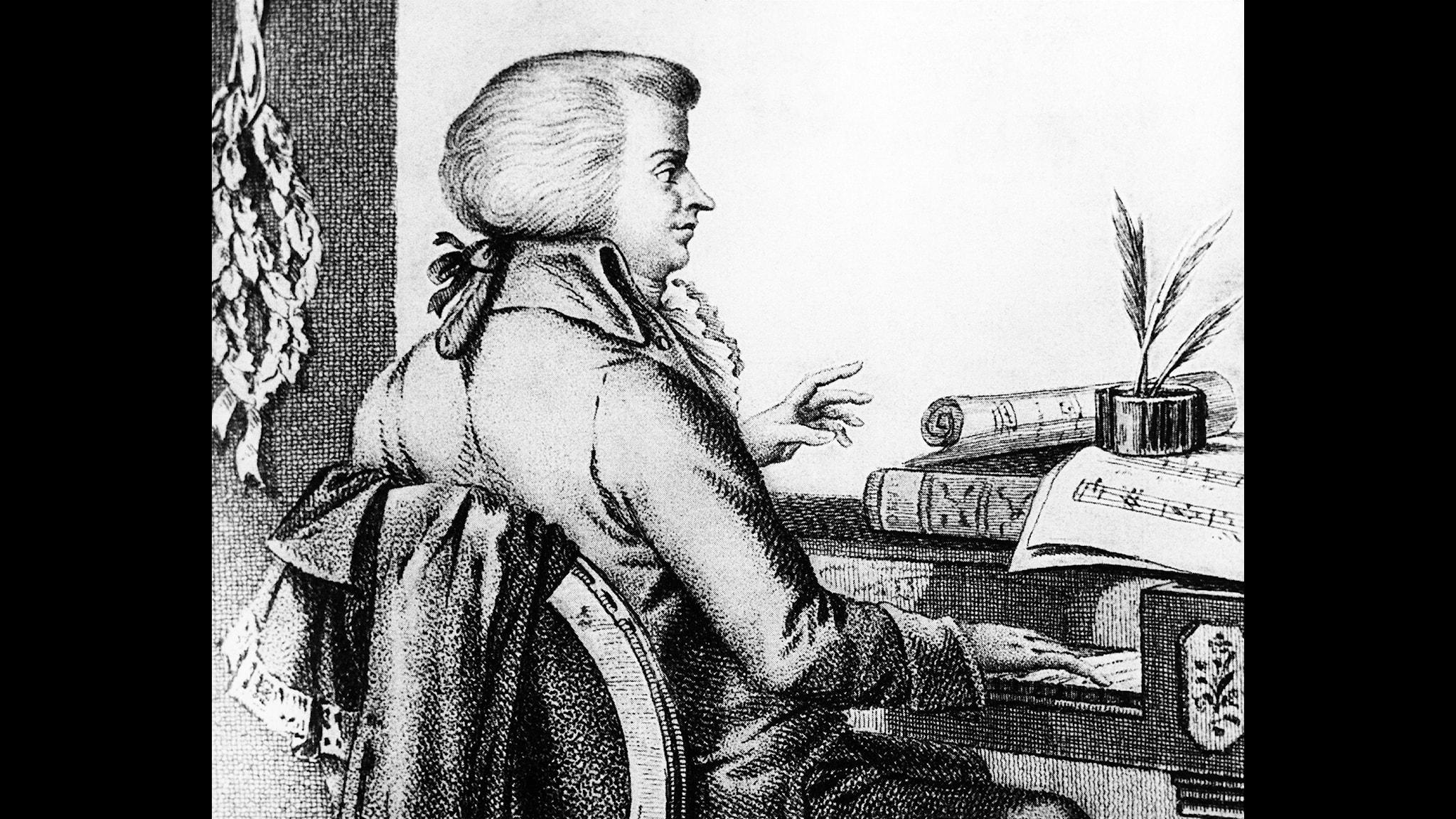 Wolfgang Amadeus Mozart, 1756-1791 - Foto SVT Bild