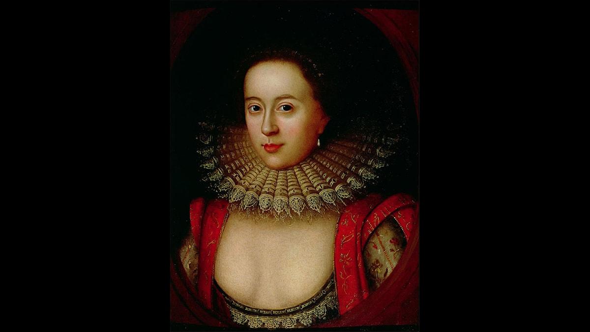 Frances Howard, Countess of Somerset - Tavla av William Larkin (1580-1619), Wikimedia CC