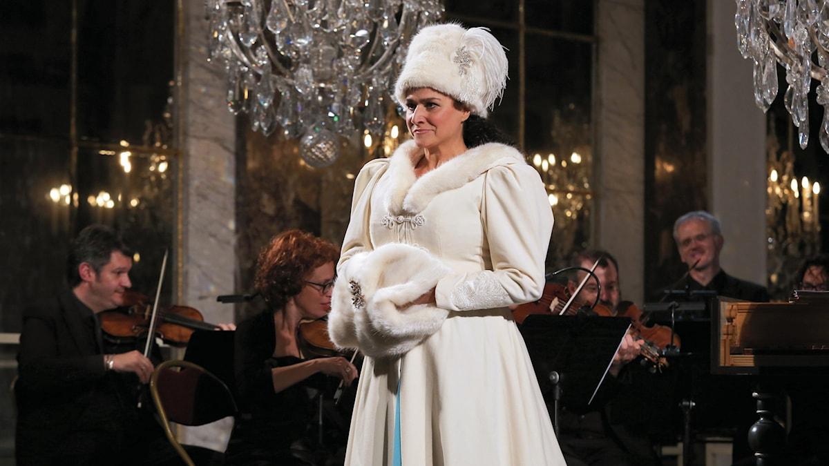 Cecilia Bartoli i Versailles - Pressfoto Xavier Paris