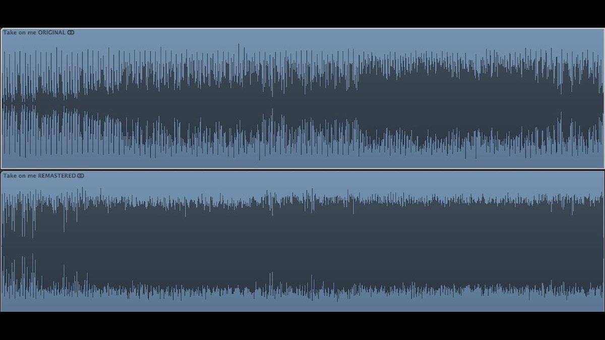 """Här jämförs Aha:s låt """"Take on me"""" i original från 1985 och ommastrad 2011"""