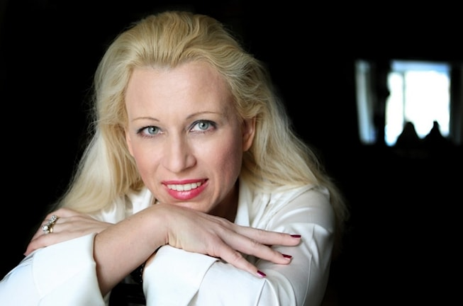 Maria Eklund, orkesterdirigent - Foto Elena Sidyakina