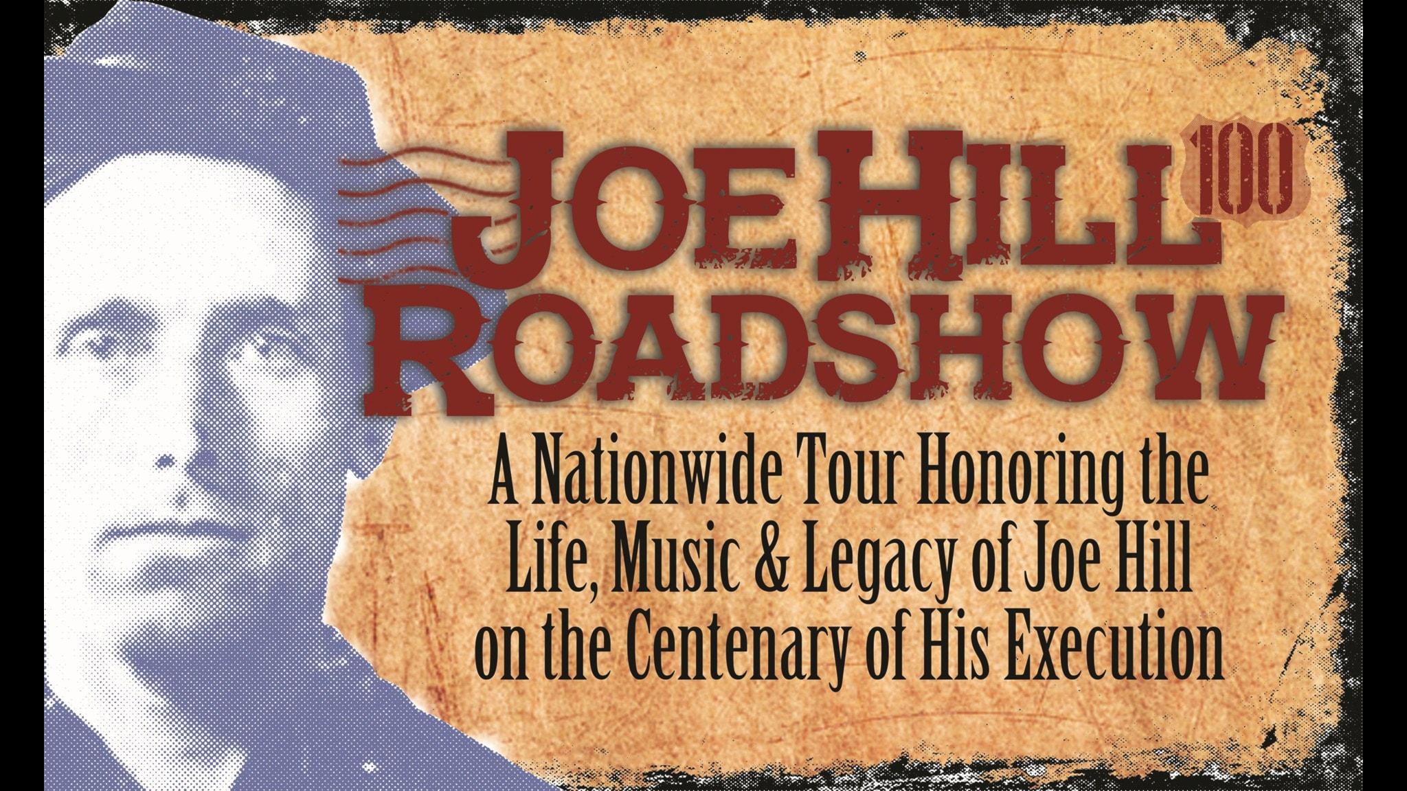 Joe Hills amerikanska roadshow 2015, affisch