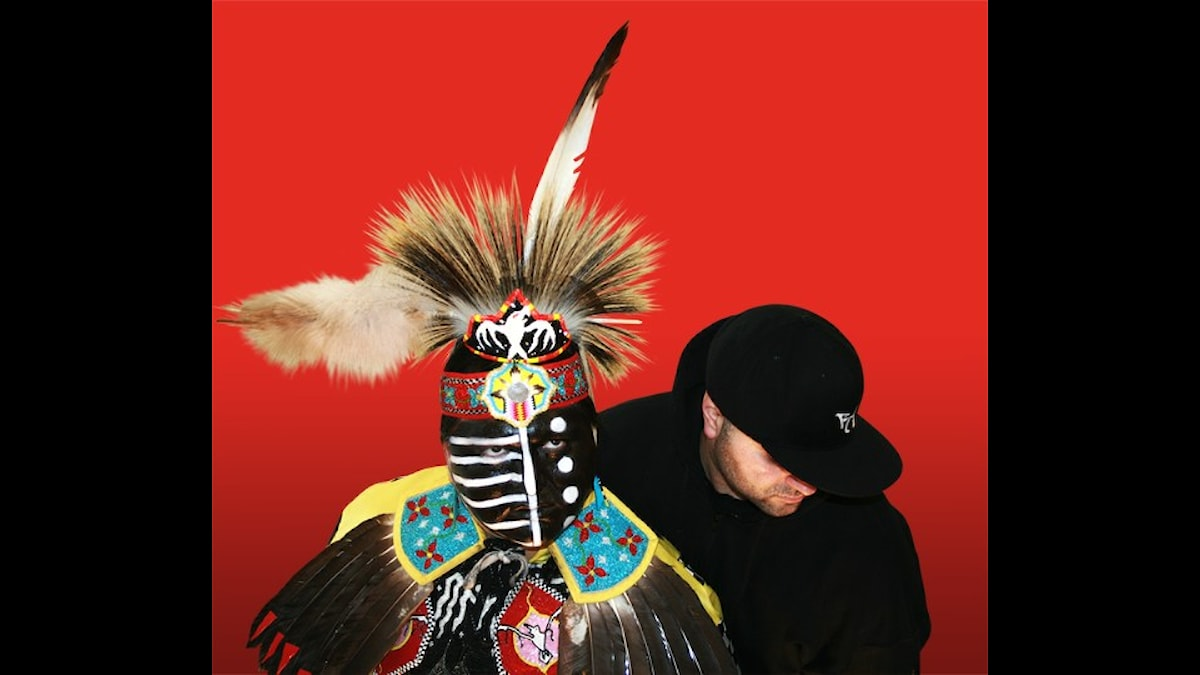 Kevin Chief (Flying Down Thunder) och Eric Vani (Rise Ashen) - Pressfoto Sarah Lee