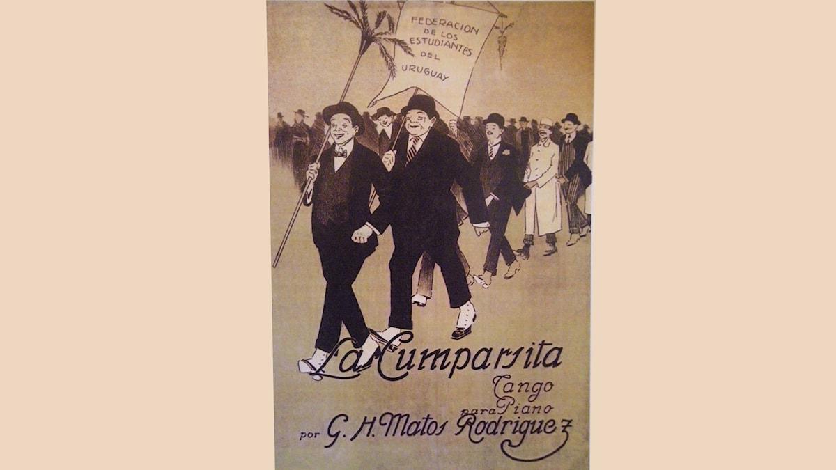 La Cumparsita, originalpartitur 1916