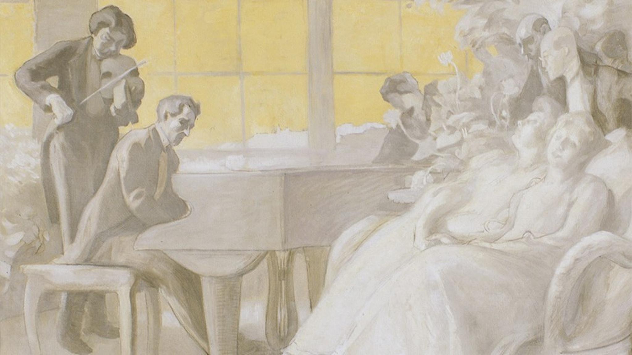 Bild: Målning av Wilhelm Stenhammar.