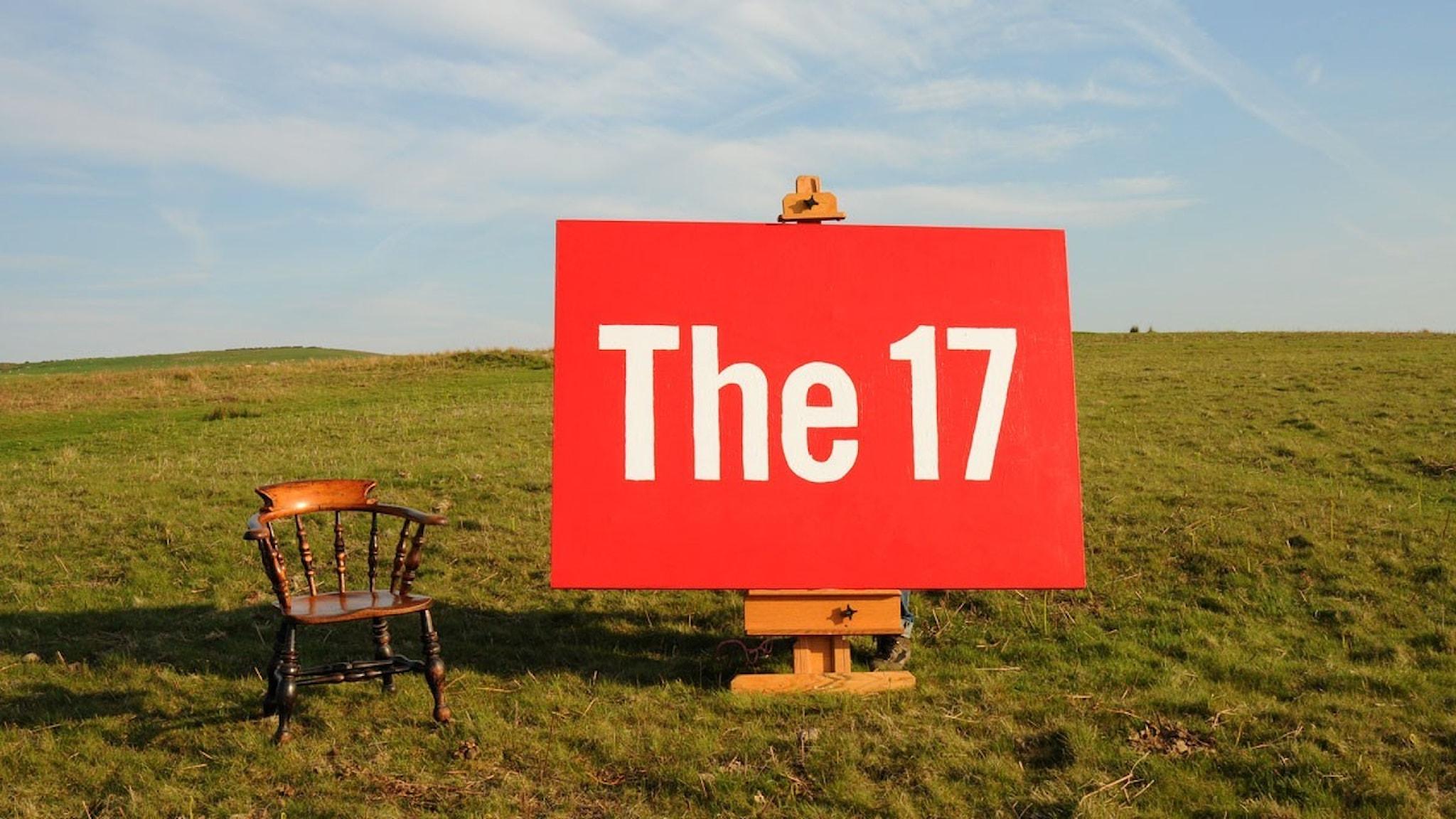 The17 med stol. Foto: