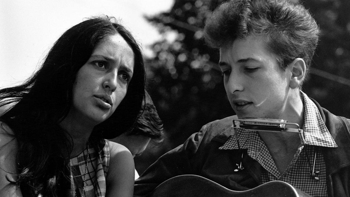 Joan Baez och Bob Dylan 1963