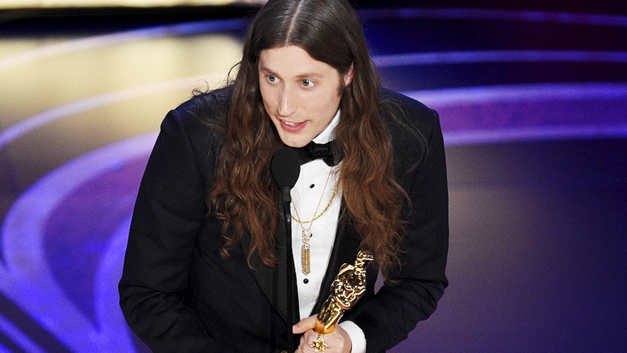 Ludwig Göransson vid Oscarsgalan 2019. Foto: Chris Pizello/AP/TT.