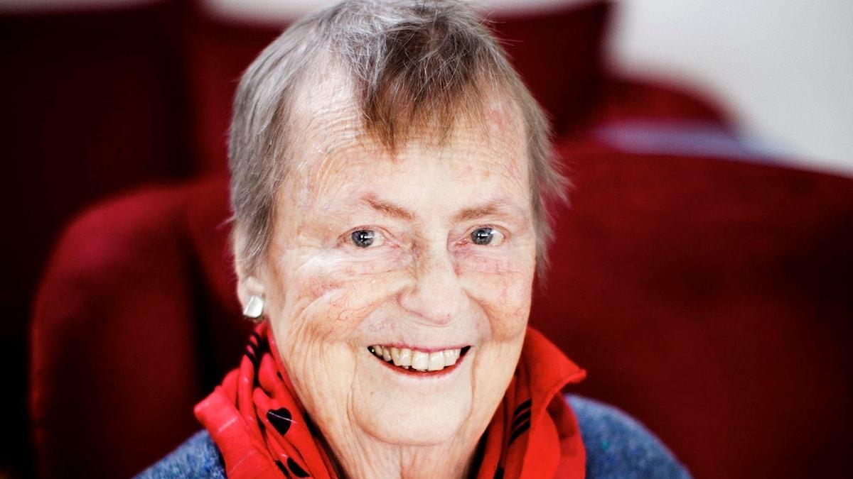 Kördirigenten Eva Svanholm-Bohlin