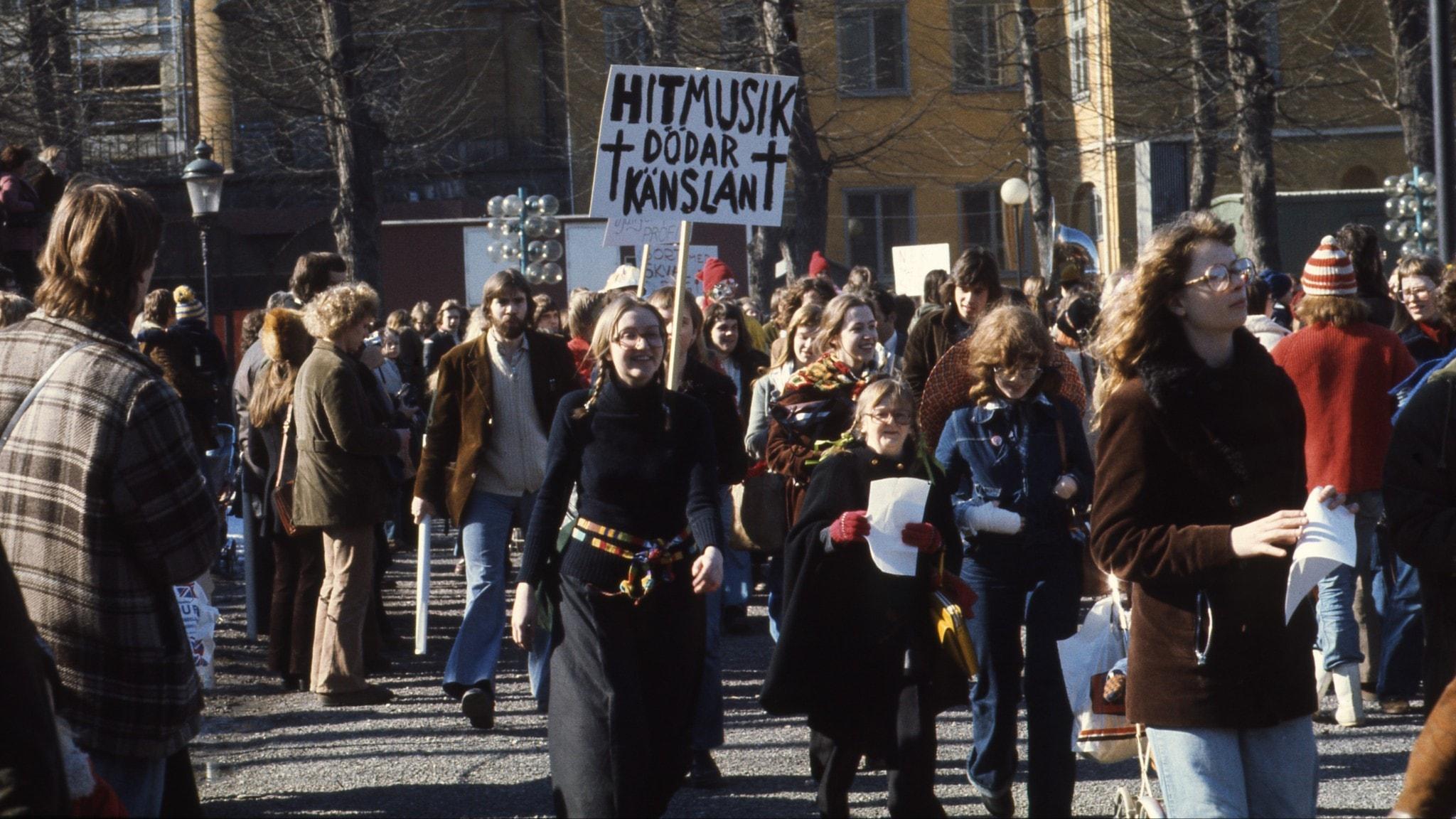 Alternativfestivalen och schlagerprotesterna 1975