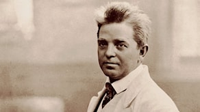 Carl Nielsen 1908. Foto: Wikimedia commons.