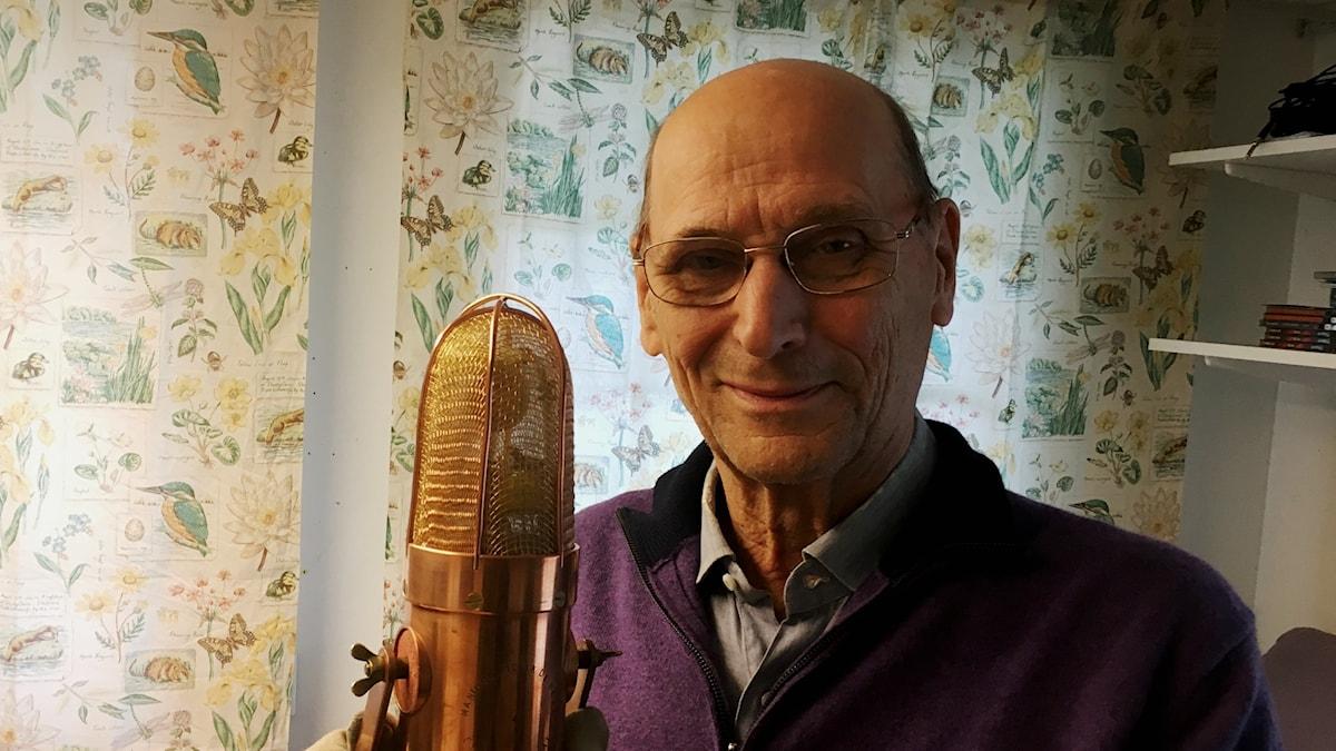Ljudteknikern Gert Palmcrantz. Foto: Anton Karis.