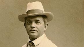 Carl Nielsen 1908. Foto: Wikimedia commons.