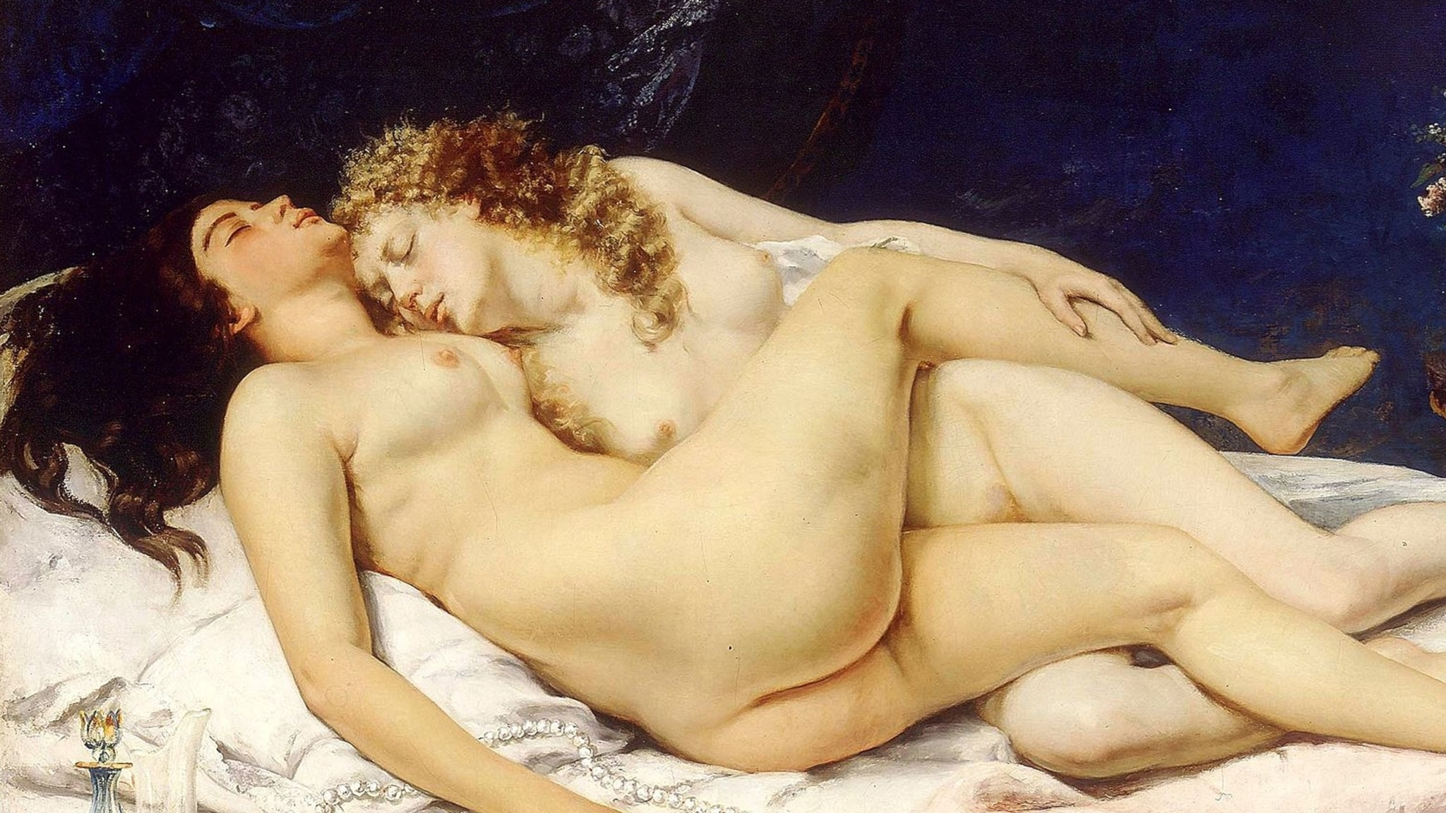 Gustave Courbet, The Sleep, 1866.