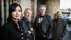 Kronoskvartetten fr v Sunny Yang, Hank Dutt, David Harrington och John Sherba. Foto: Jay Blakesberg.