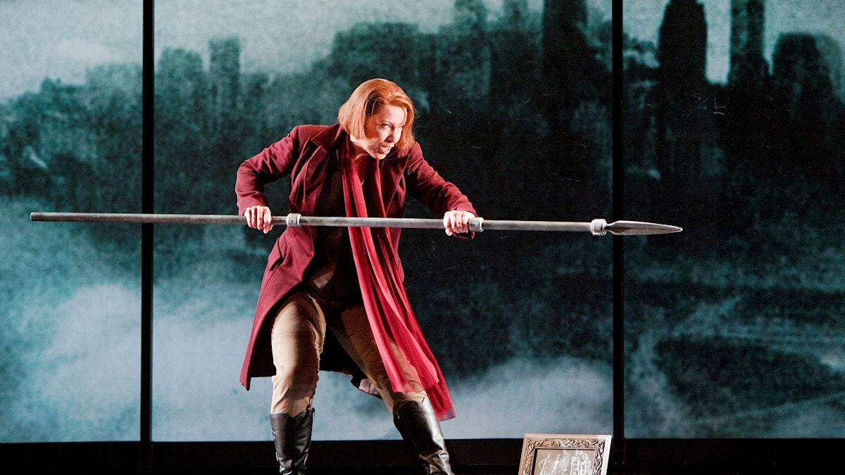 Nina Stemme som Brynhilde på San Fransisco opera. Foto: Cory Weaver.