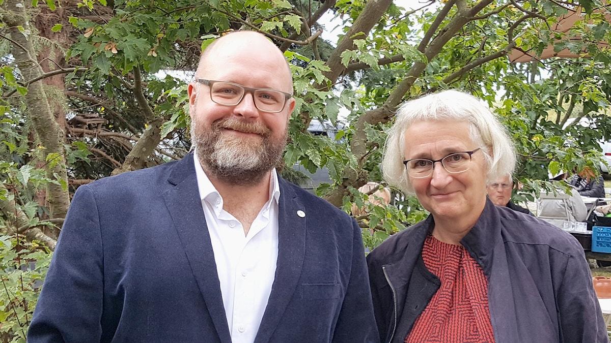 Jüri Reinvere och Eva Sjöstrand.