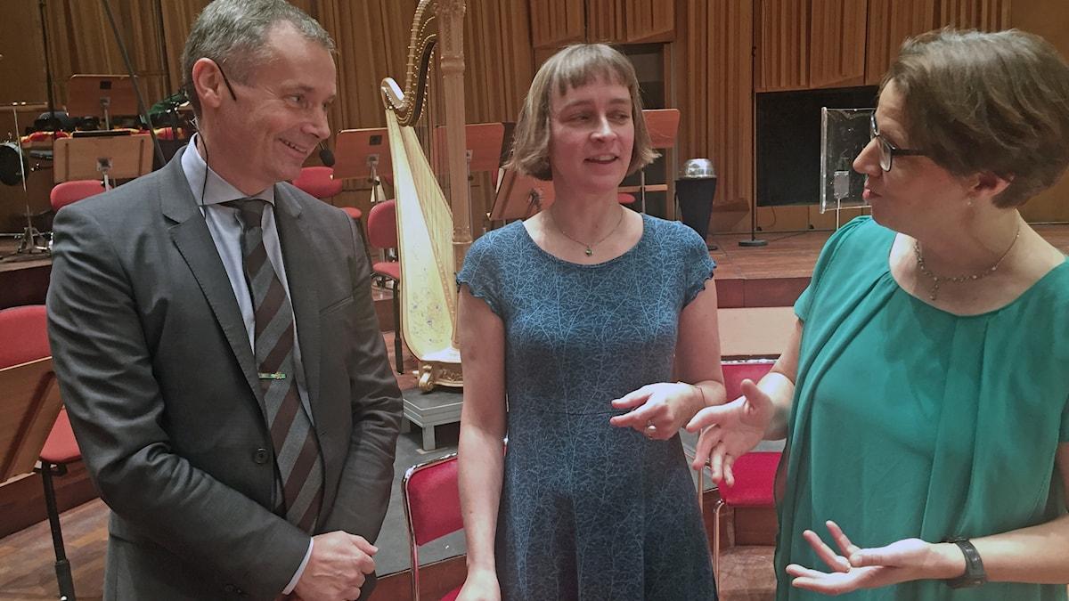 Johan Kuylenstierna, Nina Wormbs, Camilla Widebeck