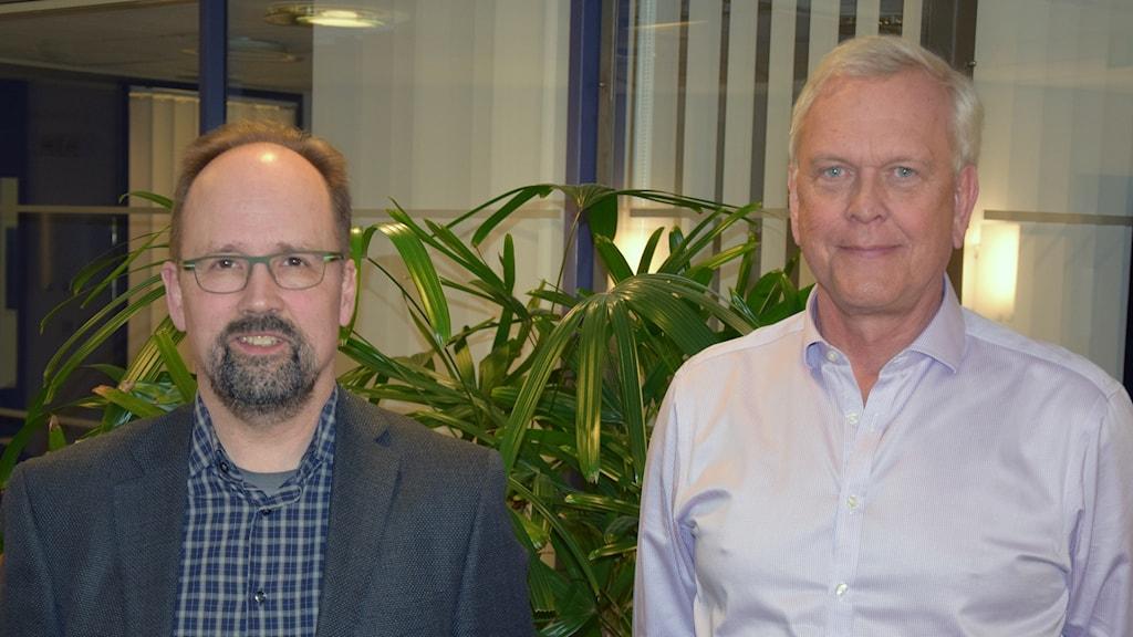 Mats Grahn och Carl Borrebaeck
