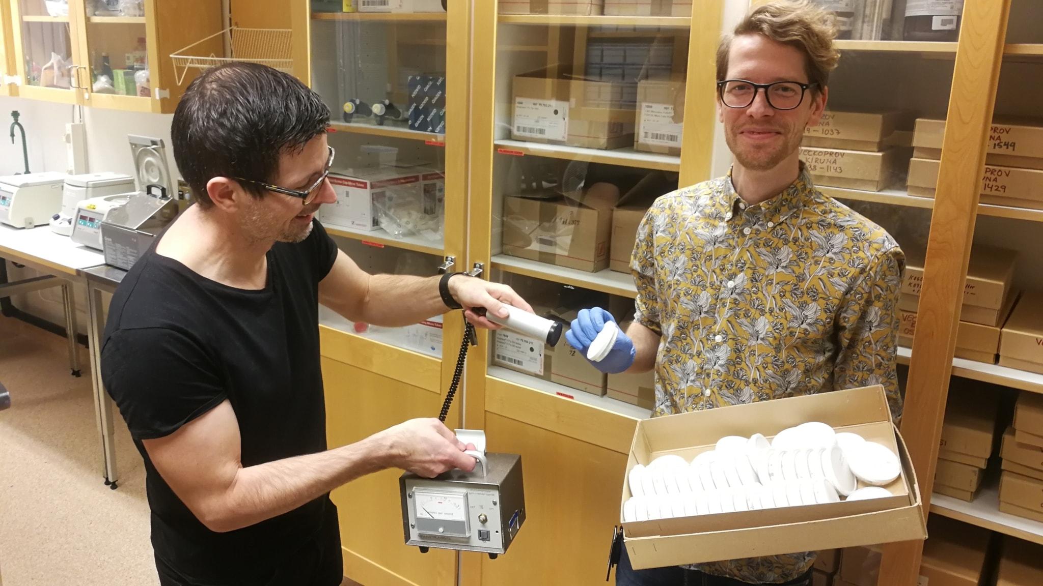 Kalla krigets radioaktivitetsmätare ger ny DNA-forskning