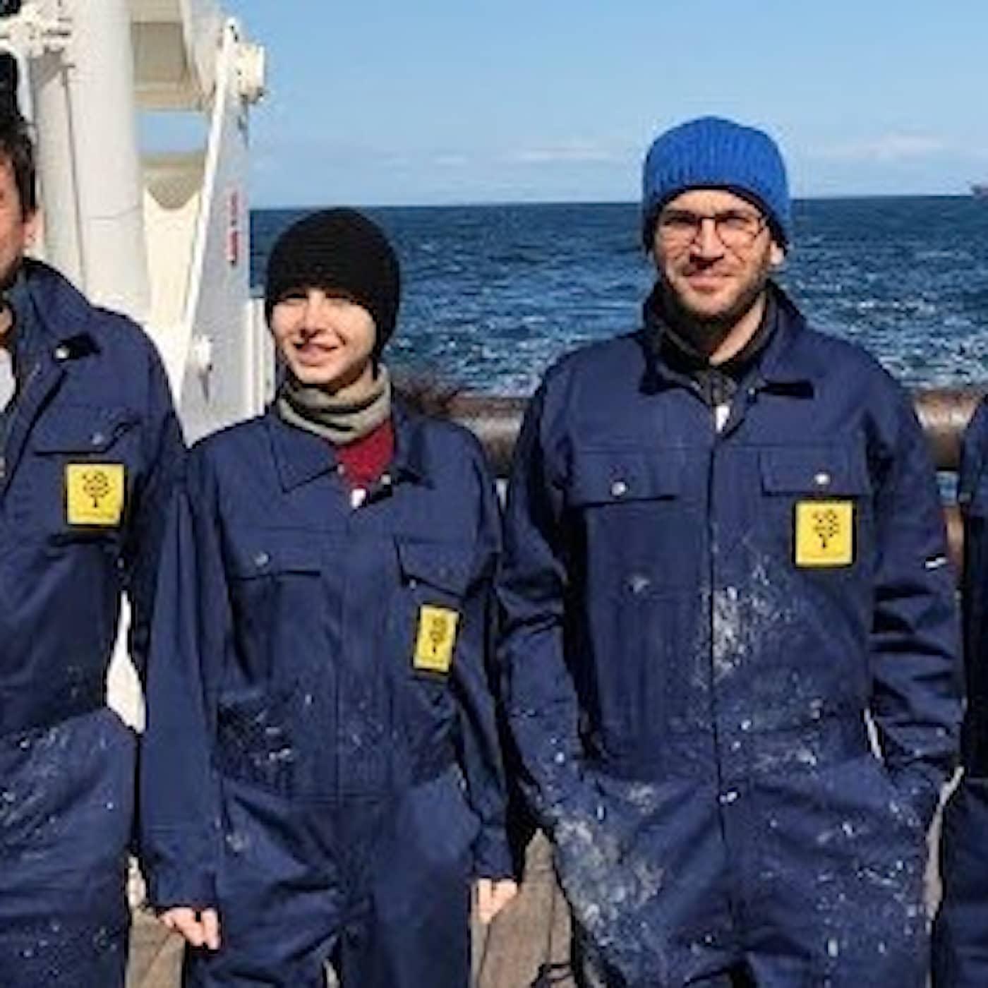 Expeditionen på Sydatlanten fann bubblande metan