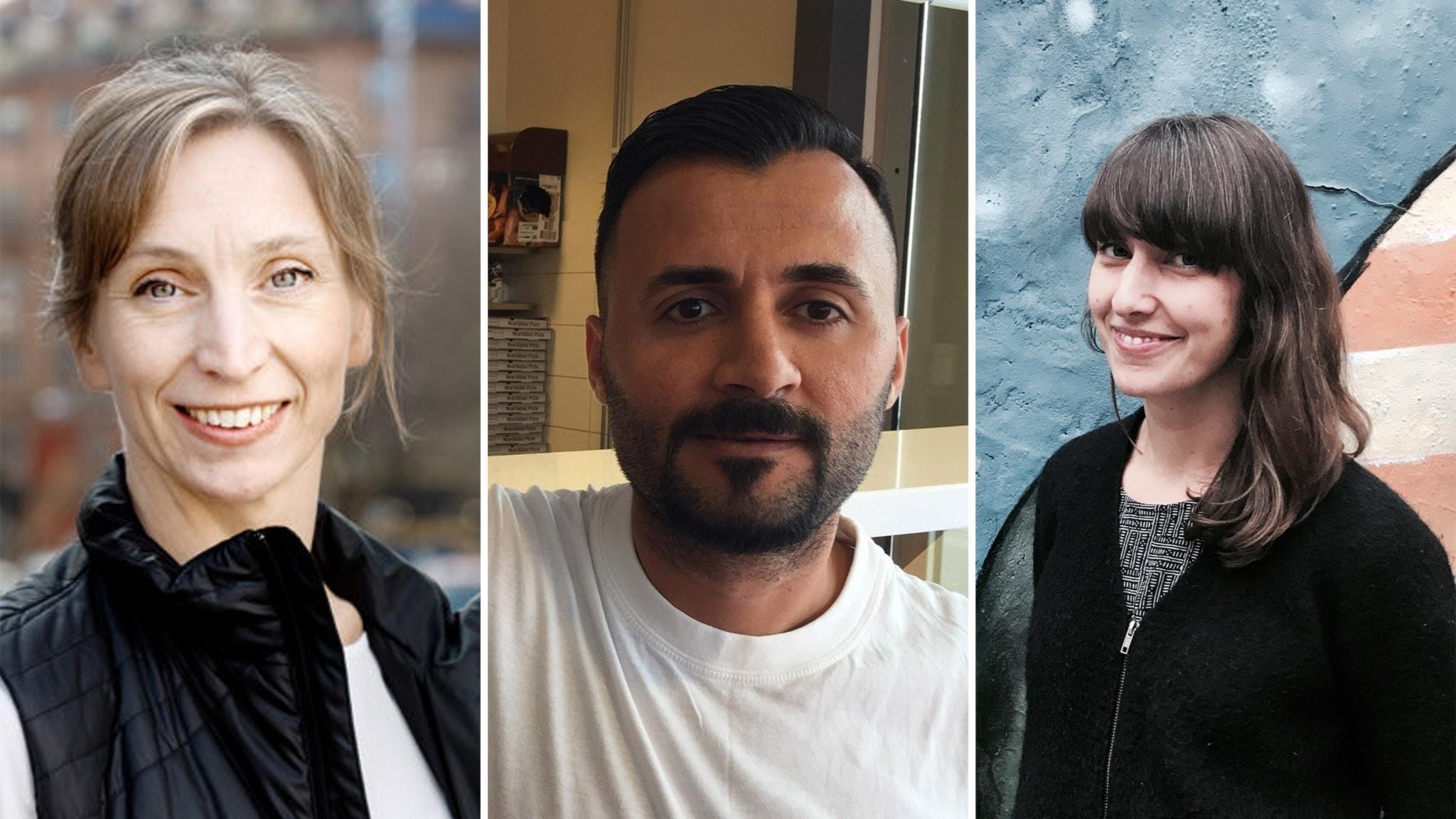 Ann Legeby, Huseyin Tan och Lisa Hellberg