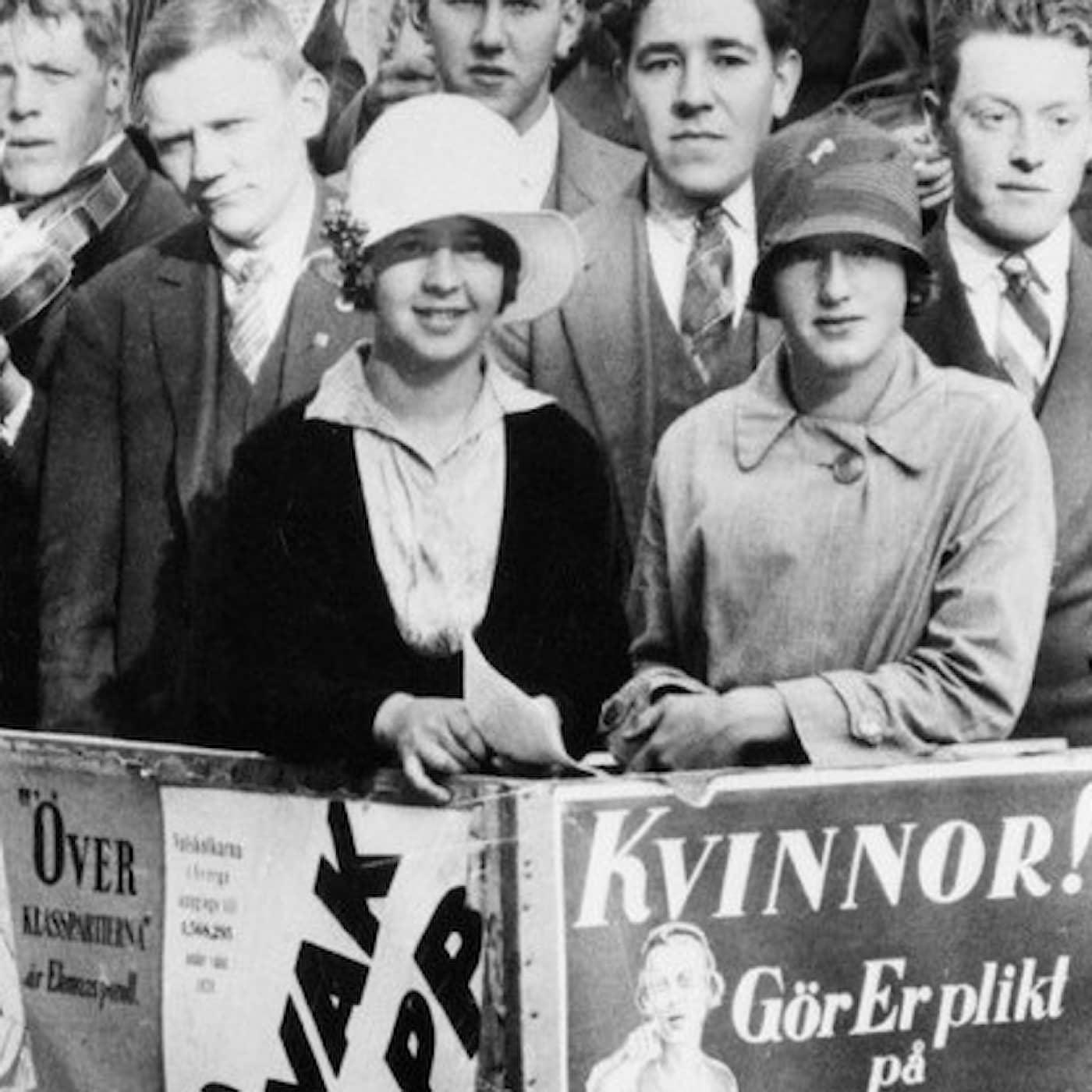 """Så lät sångerna som tog svenska kvinnor till sitt första riksdagsval - """"De var jätteviktiga"""""""