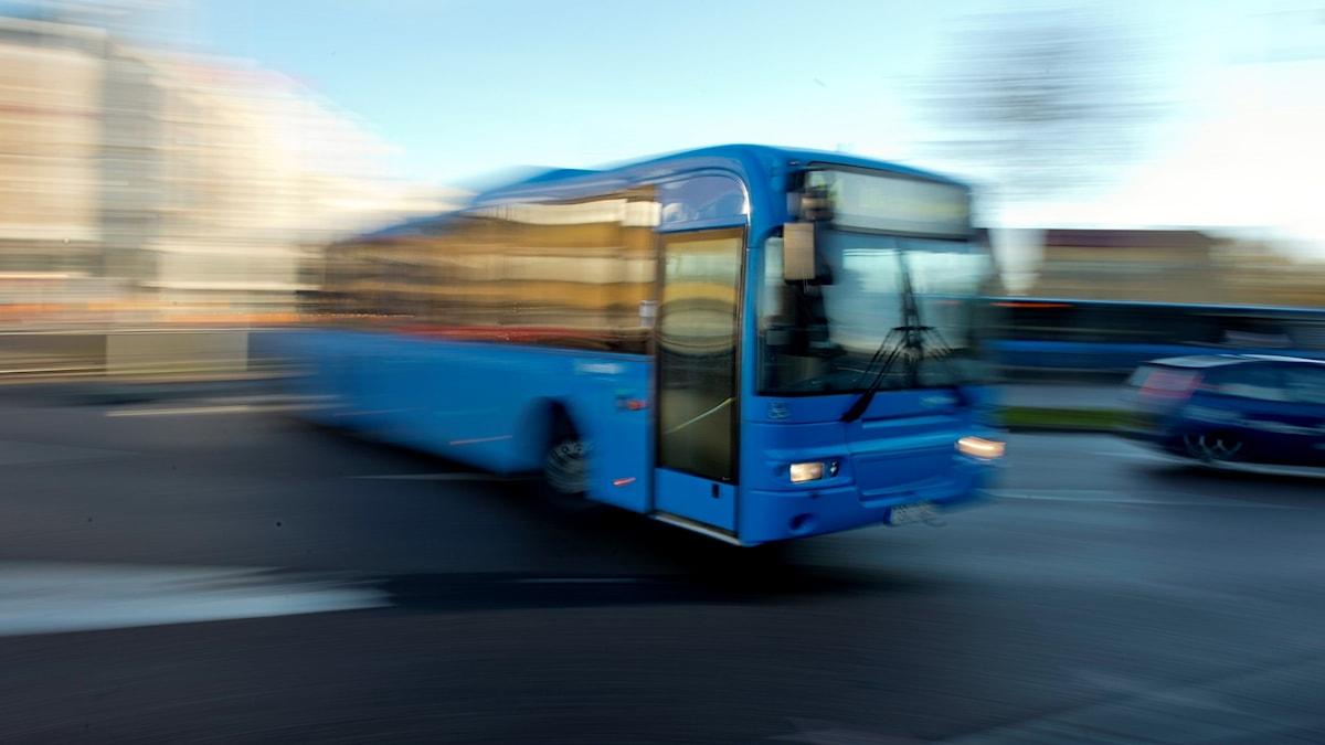 buss i Göteborg