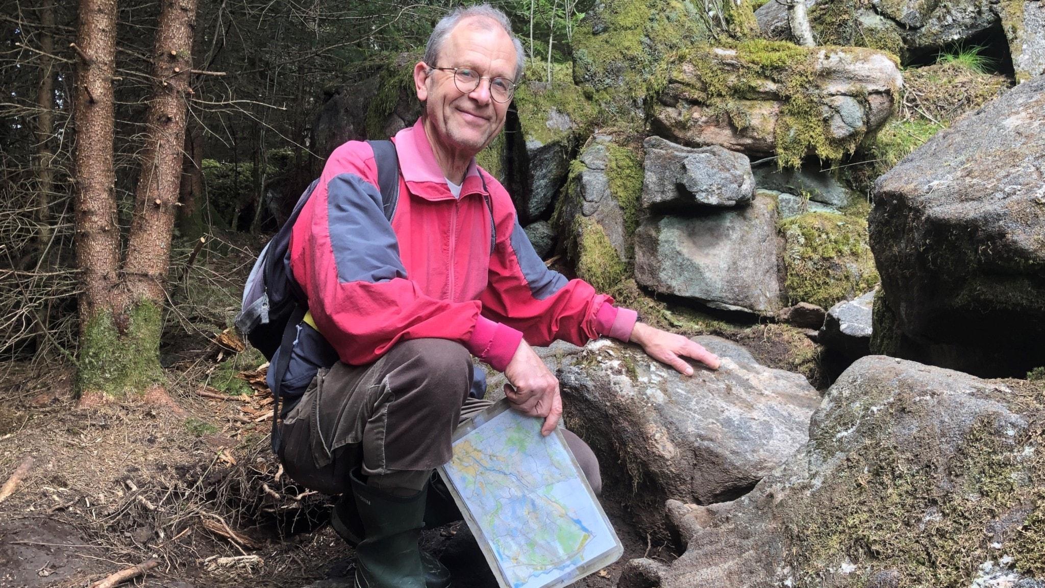 Han fann bronsåldersskatten utanför Alingsås