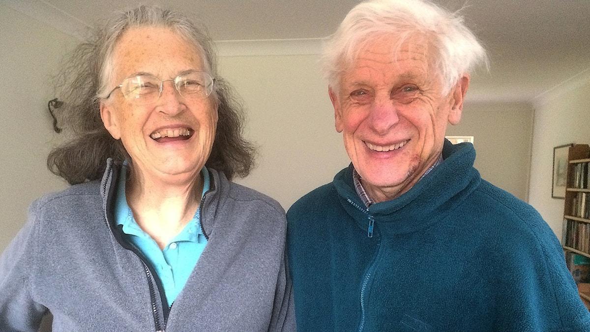 Margaret och David Thouless