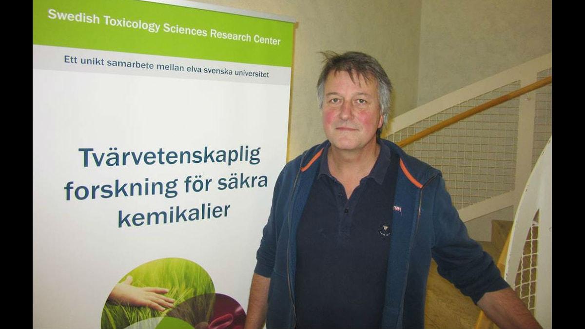 Ian Cotgreave, vetenskaplig strateg vid Swetox.
