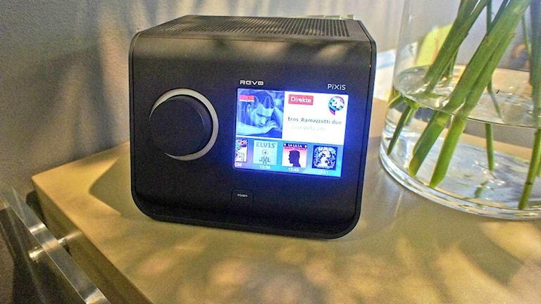 Digitaalinen radio. Foto: Per Gustafsson/SR