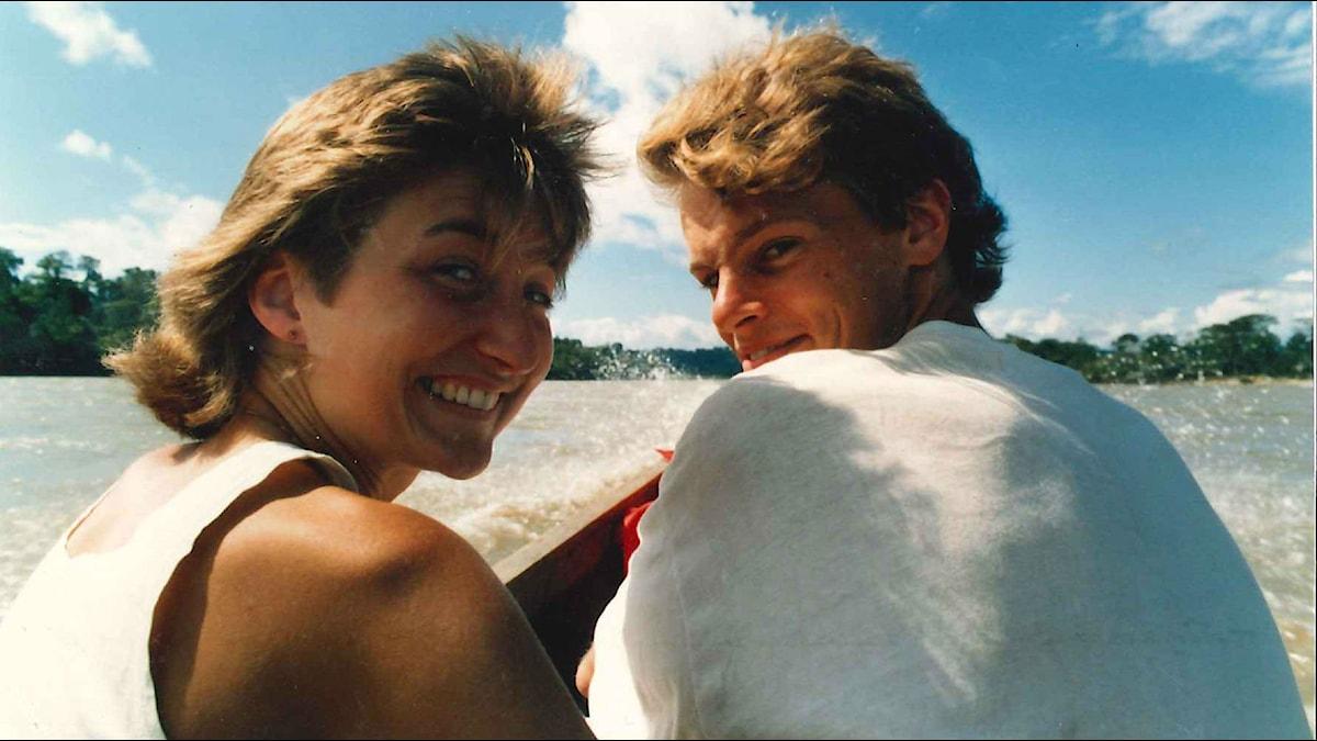 May-Britt Moser och Edvard Moser blev förälskade under studietiden i Oslo. Foto: Privat