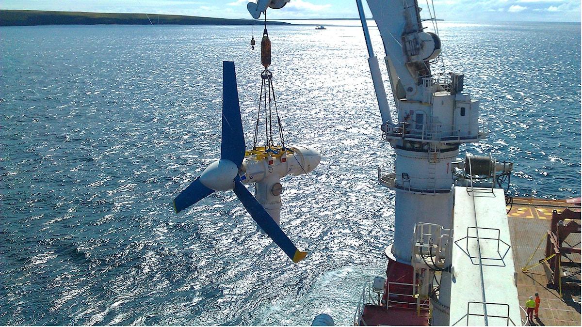 turbin sänks